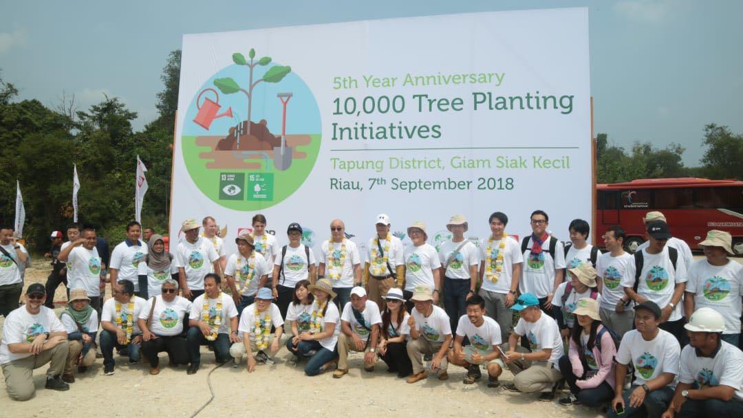 スマトラ植樹プログラム2018 全体写真